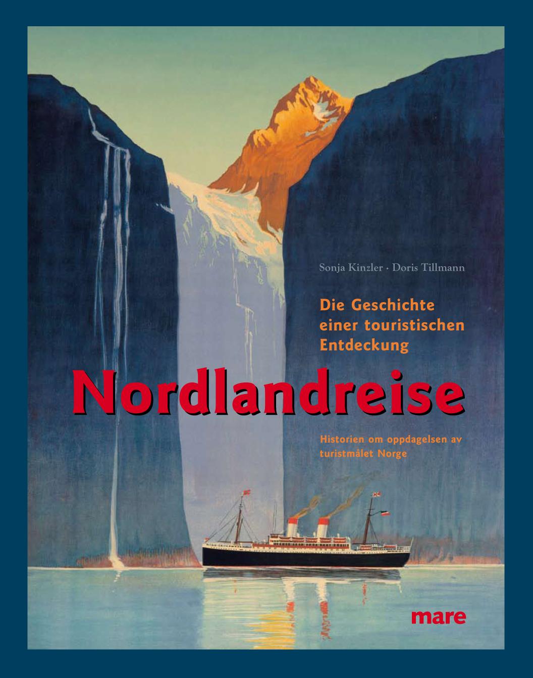 Titel Ausstellungsbuch Nordlandreise gestaltet von Eckstein und Hagestedt 2010
